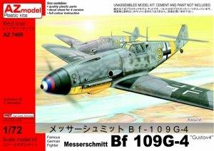 AZ Model AZ7469 Messerschmitt Bf-109G-4 Gustav4 (1:72)