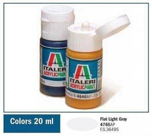 Italeri 4765 FLAT LIGHT GRAY 20ml