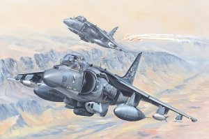 Hobby Boss 81804 AV-8B Harrier II 1/18