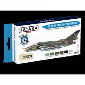 Hataka HTK-BS47 Polish Air Force Su-22M4 paint set 6x17ml