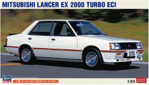 Hasegawa 20490 Mitsubishi Lancer EX 2000 Turbo ECI 1/24