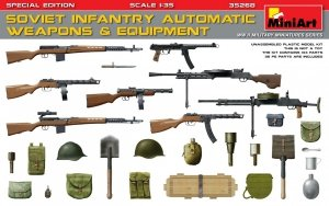 MiniArt 35268 SOVIET INFANTRY AUTOMATIC WEAPONS & EQUIPMENT. SPECIAL EDITION (1:35)