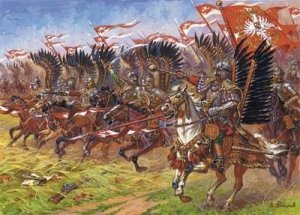 Zvezda 8041 Polish Winged Hussars (1:72)