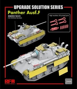Rye Field Model 2008 Panther Ausf. F UPGRADE SOLUTION 1/35