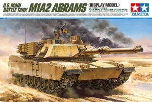 Tamiya 36212 U.S. Main Battle Tank M1A2 Abrams (Display Model) (1:16)