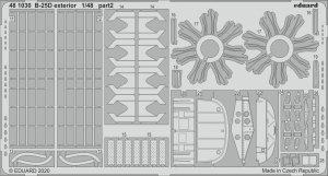 Eduard 481030 B-25D exterior 1/48 REVELL