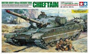 Tamiya 30608 British Army 46ton Medium Tank Chieftain (1:25)