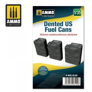 Ammo of Mig 8145 Dented US Fuel Cans 1/35