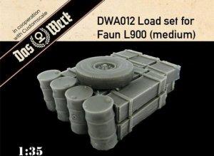 Das Werk DWA012 Load set for Faun L900 (medium) 1/35