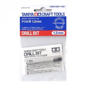 Tamiya 74087 Drill Bit (1.2mm)