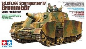Tamiya 35353 Sd.Kfz.166 Sturmpanzer IV Brummbar Late Production (1:35)