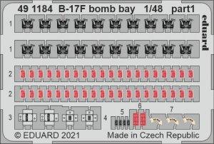 Eduard 491184 B-17F bomb bay HKM 1/48