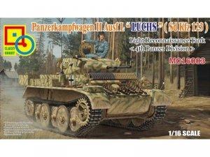 Classy Hobby MC16003 Panzerkampfwagen II Ausf L 'Luchs' (Sd.Kfz123) 1:16
