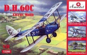 A-Model 72280 D.H.60C Cirrus Moth 1:72