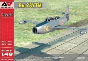 A&A Models 4804 Yakovlev Yak-23 UTI Training Fighter 1/48