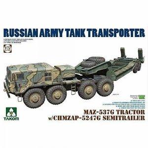 Takom 5004 MAZ-537G Tractor w/ CHMZAP-5247G Semitrailer 1/72