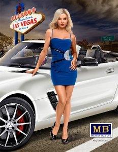 Master Box 24020 Dangerous Curves Series. Sloan - Vegas Baby 1/24