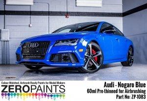 Zero Paints ZP-1083 Audi RS - Nogaro Blue Paint 60ml
