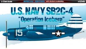 Academy 12545 U.S. Navy SB2C-4 Operation Iceberg (1:72)