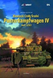 Kagero 8805 Niemiecki Czołg Średni Panzerkampfwagen IV Ausf. G/H/J PL