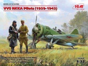 ICM 32102 VVS RKKA Pilots 1939-1942 3 figures (1:32)