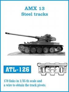 Friulmodel 1:35 ATL-126 AMX 13 Steel tracks