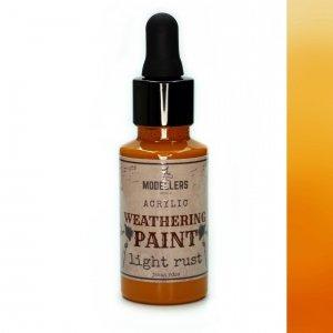 Modellers World MWE011 Weathering paint: Light rust 30 ml