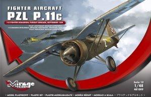 Mirage 481009 PZL P.11c 1/48