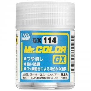 Gunze Sangyo GX114 Super Smooth Clear Flat (18 ml)