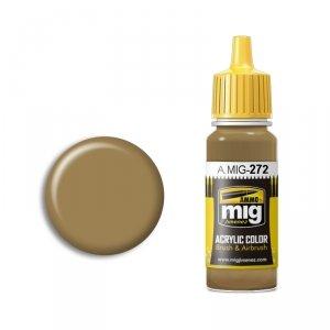 AMMO of Mig Jimenez 272 Giallo Mimetico 4 17ml