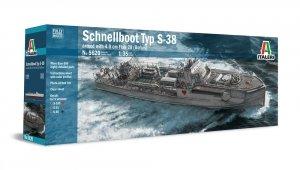 Italeri 5620 SCHNELLBOOT Typ S-38 (1:35)