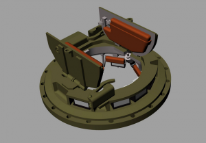 "Panzer Art RE35-659 MK2 Commander cupola for British ""Sherman"" tanks 1/35"