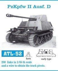 Friulmodel 1:35 ATL-52 PzKpfw II Ausf. D