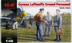 ICM 48085 German Luftwaffe Ground Personnel 1939-1945(1:48)
