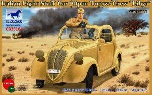 Bronco CB35164 Italian Light Staff Car (Open Top) w/Crew Libya (1:35)