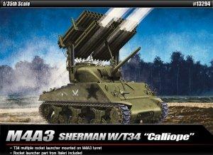 Academy 13294 M4A3 SHERMAN W/T34 CALLIOPE