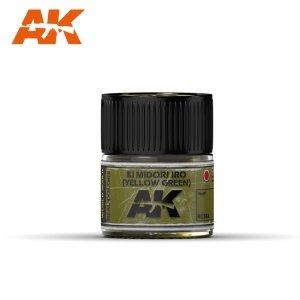 AK Interactive RC333 KI MIDORI IRO (YELLOW-GREEN) 10ML