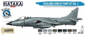 Hataka Hobby HTK-BS28 Falklands Conflict Vol. 2 Paint Set (8x17ml)