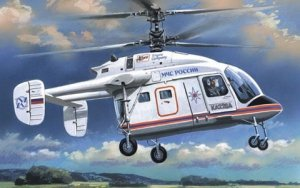 A-Model 07274 Kamov Ka-226 Russian Emergency Situations Ministry (MChS) helicopter 1:72