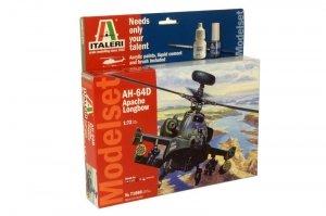Italeri 71080 AH - 64 APACHE- ZESTAW MODELARSKI