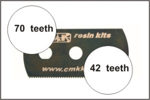 CMK H1000 Ultra smooth and extra smooth saw (2 sides) 1 pc