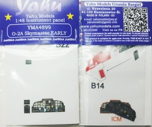 Yahu Models YMA4899 O-2A Skymaster EARLY 1/48