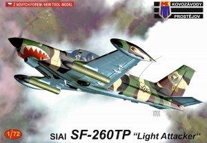 Kovozavody Prostejov KPM0214 SIAI SF-260TP Light Attacker 1/72