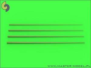Master SM-350-089 Set of universal tapered masts No1 (length = 100mm each, diameters = 0,3/1,2mm; 0,4/1,5mm; 0,5/1,8mm; 0,6/2mm) 1:350
