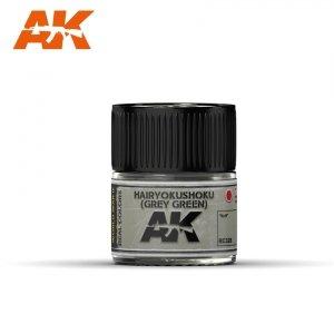 AK Interactive RC328 HAIRYOKUSHOKU (GREY-GREEN) 10ML