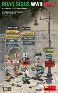 MiniArt 35611 ROAD SIGNS WWII ITALY 1/35