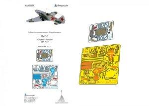 Microdesign MD 072037 Mig-3 detail set (colour) Zvezda 1/72