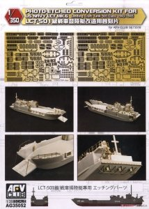 AFV Club AG35052 Photo-Etched Conversion Kit for U.S. Navy LCT Mk.6 1/350
