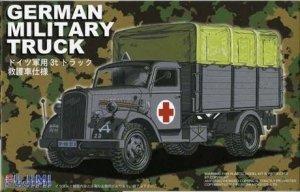 Fujimi 722238 German Military Truck Opel Blitz 3t Ambulance 1/72