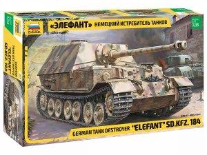 Zvezda 3659 German Tank Destroyer Elefant 1/35
